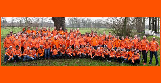 De hele Nederlandse delegatie LA2015