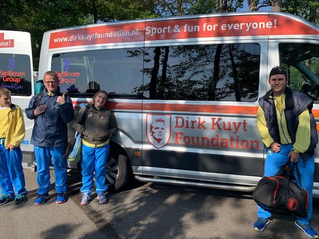 Met dank aan de Dirk Kuyt Foundation